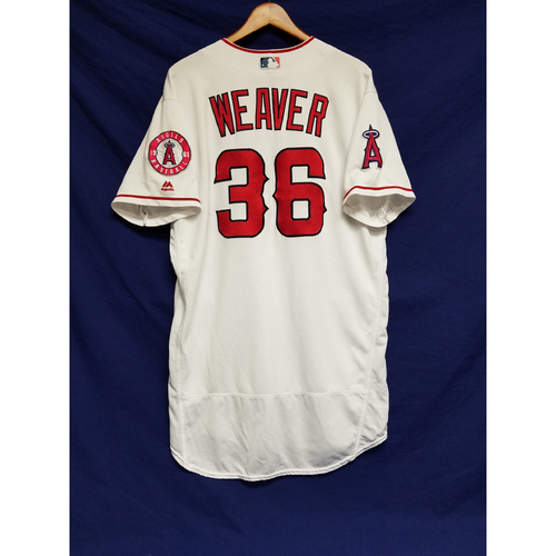 Photo of Jered Weaver 2016 Team-Issued Home Jersey