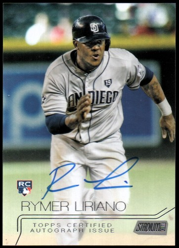 Photo of 2015 Stadium Club Autographs #SCARL Rymer Liriano