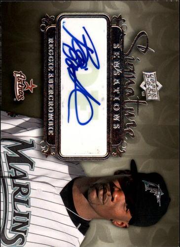 Photo of 2008 Upper Deck Signature Sensations #RA Reggie Abercrombie AUTO