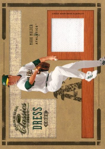 Photo of 2004 Donruss Classics Dress Code Jersey #32 Mark Mulder
