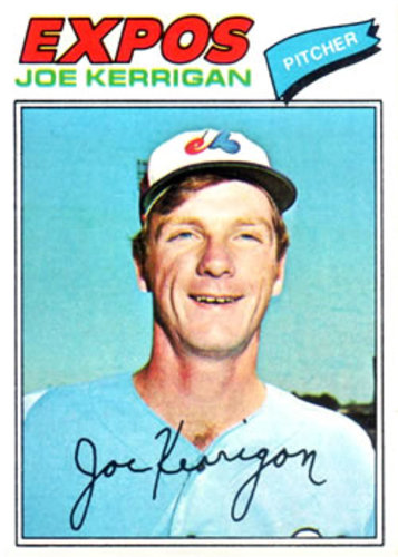Photo of 1977 Topps #341 Joe Kerrigan RC