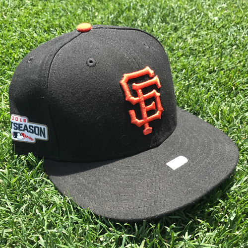 Photo of San Francisco Giants - Game-Used Postseason Cap - WC & NLDS - Sergio Romo