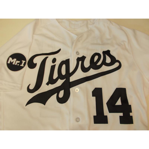 Photo of Game-Used Fiesta Tigres Jersey: Alex Presley