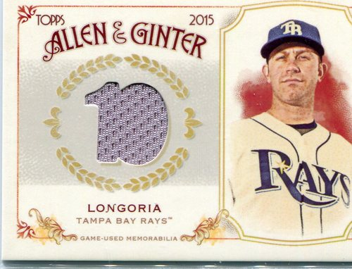 Photo of 2015 Topps Allen and Ginter Relics #FSRBEL Evan Longoria