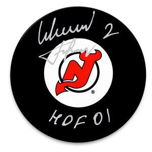 Slava Fetisov New Jersey Devils HOF Autographed Puck