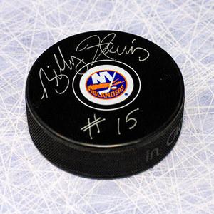 Billy Harris New York Islanders Autographed Hockey Puck