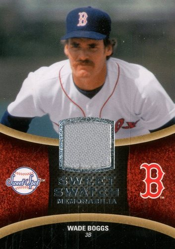 Photo of 2008 Sweet Spot Swatches #SWB Wade Boggs