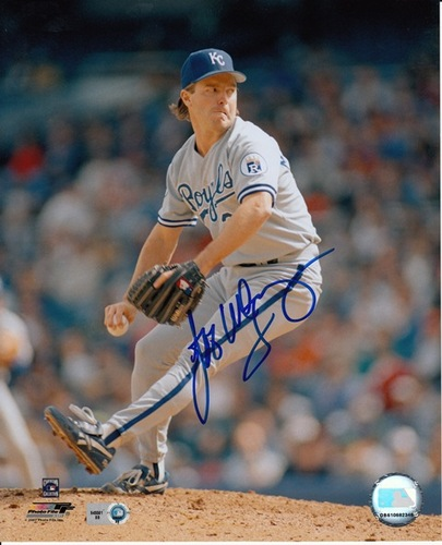 Photo of Jeff Montgomery Autographed 8x10