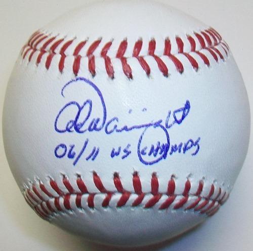 "Photo of Adam Wainwright ""06/11 WS Champs"" Autographed Baseball"