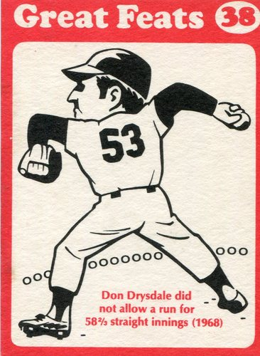 Photo of 1972 Laughlin Great Feats #38 Don Drysdale