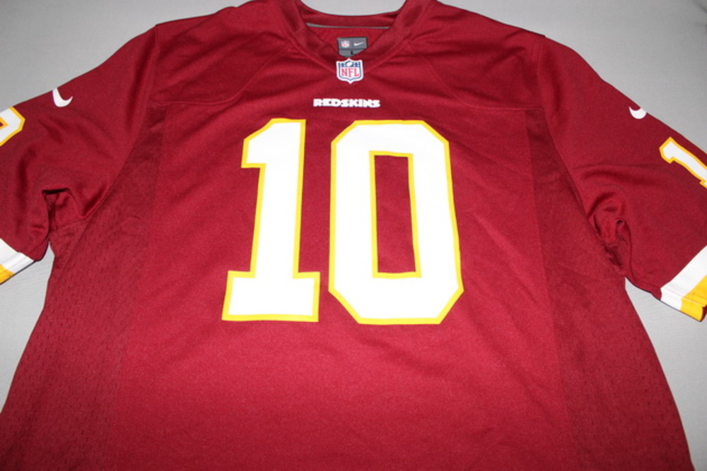 REDSKINS - ROBERT GRIFFIN III NIKE REPLICA JERSEY - SIZE ADULT L