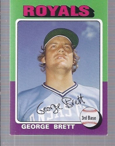 Photo of 2006 Topps Rookie of the Week #12 George Brett 75