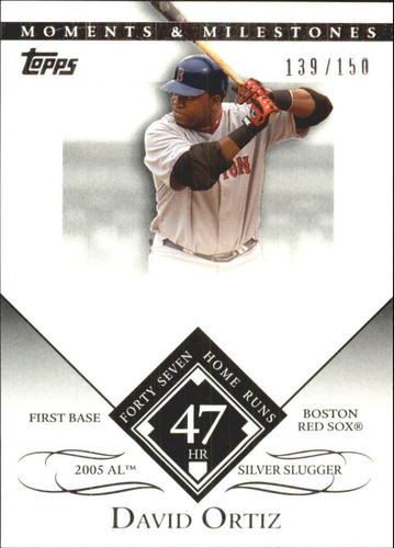 Photo of 2007 Topps Moments and Milestones #104-47 David Ortiz/HR 47