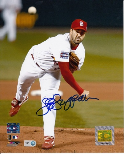 Photo of Jeff Suppan Autographed 8x10