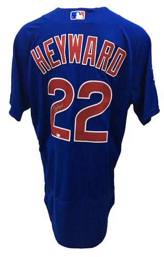 Jason Heyward Autographed Jersey