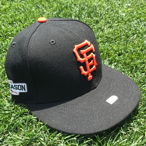 Photo of San Francisco Giants - Game-Used Postseason Cap - WC & NLDS - Matt Cain
