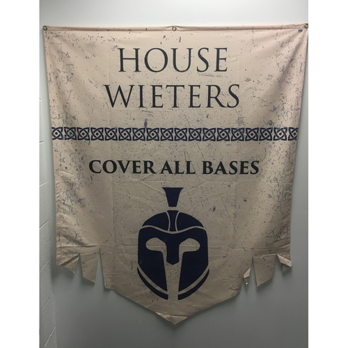 Photo of House of Wieters - Game of Thrones Night Banner