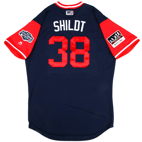 "Photo of St. Louis Cardinals Game-Used Little League Classic Jersey -  Paul ""Shildt"" Shildt #38"