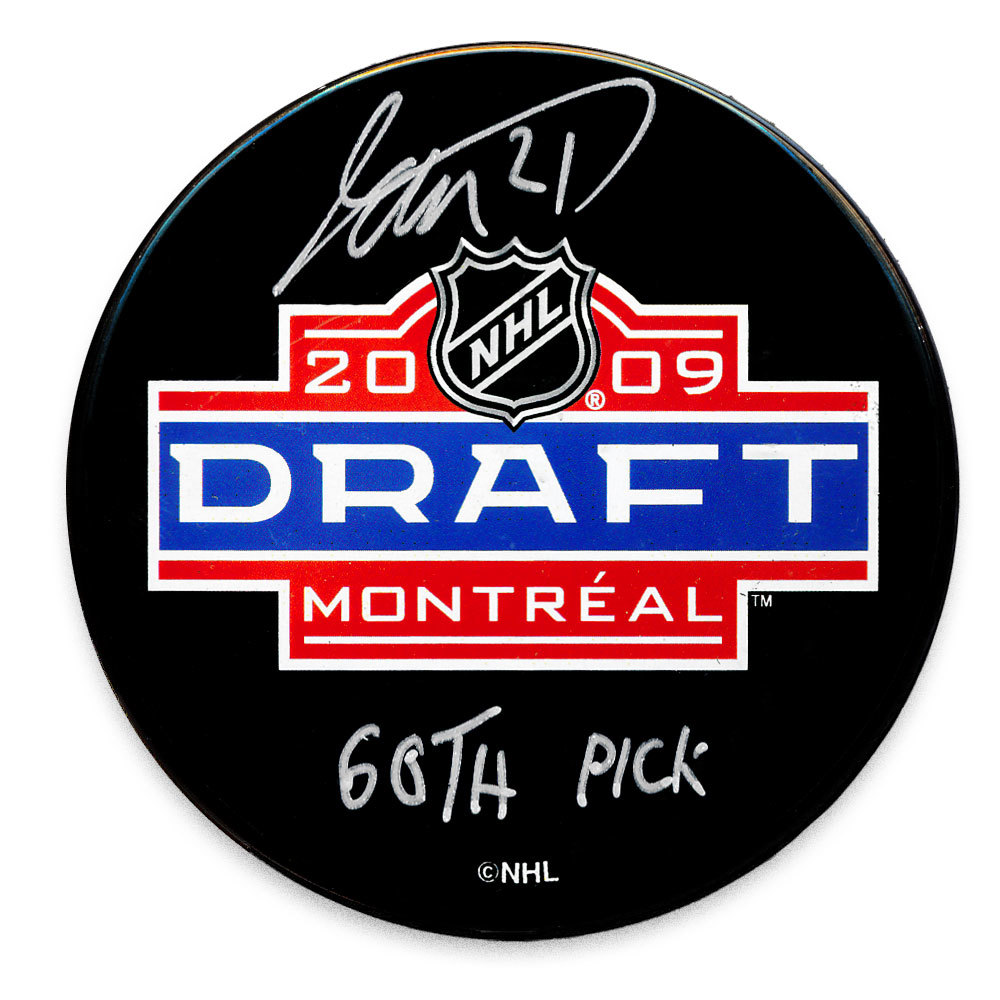 Tomas Tatar 60th Pick 2009 NHL Draft Day Autographed Puck Detroit Red Wings