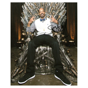 Snoop Dogg Autographed 8X10 Photo