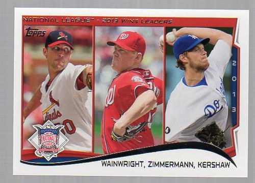 Photo of 2014 Topps #294 Adam Wainwright/Jordan Zimmermann/Clayton Kershaw LL
