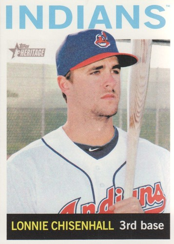Photo of 2013 Topps Heritage #289 Lonnie Chisenhall