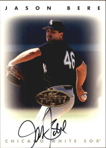 Photo of 1996 Leaf Signature Autographs Gold #23 Jason Bere