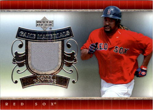 Photo of 2007 Upper Deck UD Game Materials #MR Manny Ramirez S2