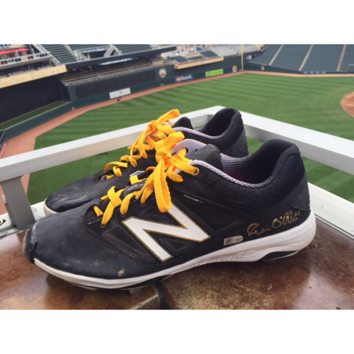 Photo of Support Pediatric Cancer: Children's Cancer Awareness Game-Used Cleats Worn and Autographed by Ryan O'Rourke