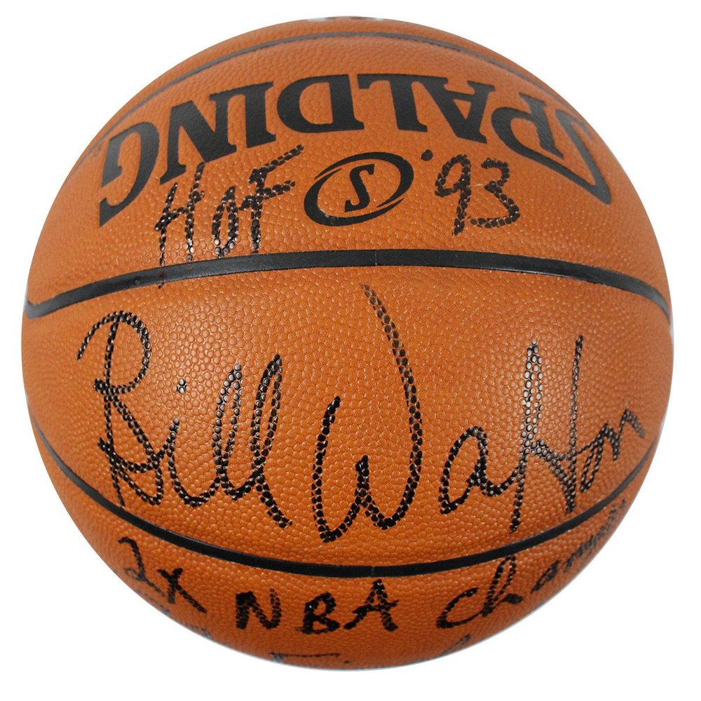 Bill Walton Signed I/O Basketball w/