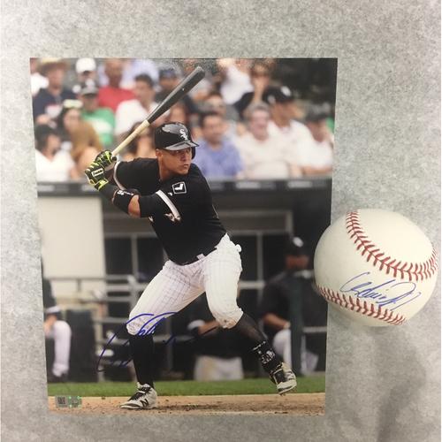 Photo of Avisail Garcia Autographed Baseball and Photo
