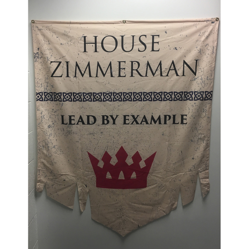 Photo of House of Zimmerman - Game of Thrones Night Banner