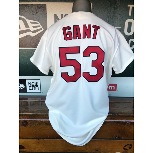 Cardinals Authentics: John Gant Team-Issued 1967 Jersey