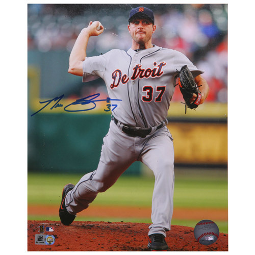 Detroit Tigers Max Scherzer Autographed 8x10 Photo