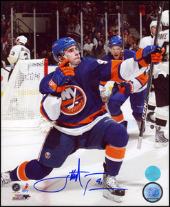 John Tavares New York Islanders Autographed Celebration 8x10 Photo