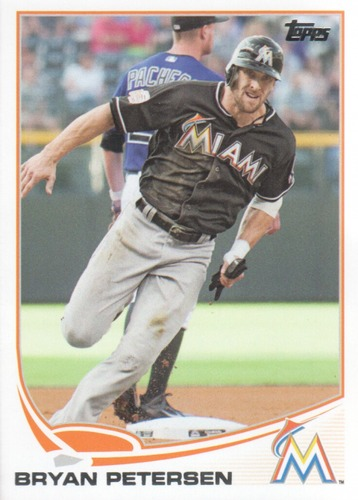 Photo of 2013 Topps Update #US82 Bryan Petersen