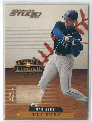 Photo of 2001 Studio Leather and Lumber #LL31 John Olerud