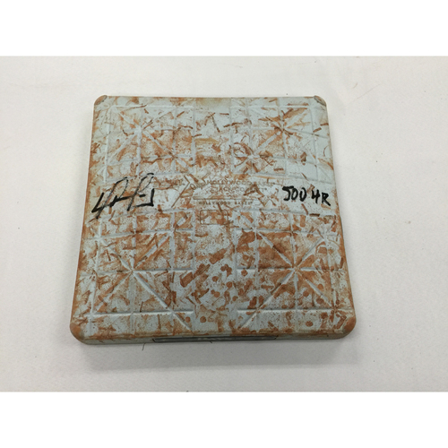 Photo of David Ortiz Autographed Game-Used September 12, 2015 2nd Base with 500 HR inscription