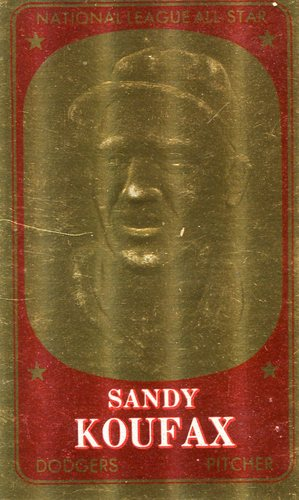 Photo of 1965 Topps Embossed #8 Sandy Koufax