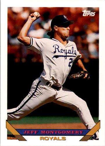 Photo of 1993 Topps #130 Jeff Montgomery