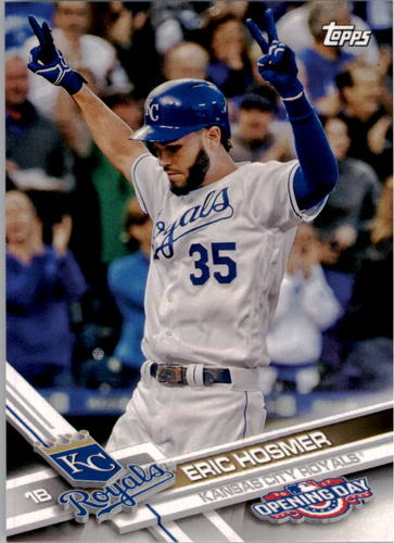 Photo of 2017 Topps Opening Day #128A Eric Hosmer