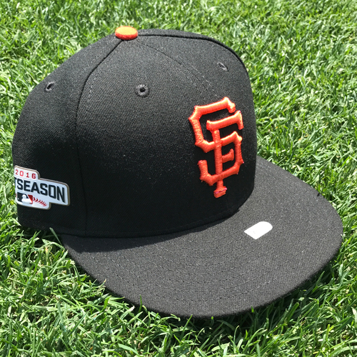 Photo of San Francisco Giants - Game-Used Postseason Cap - NLDS - Conor Gillaspie