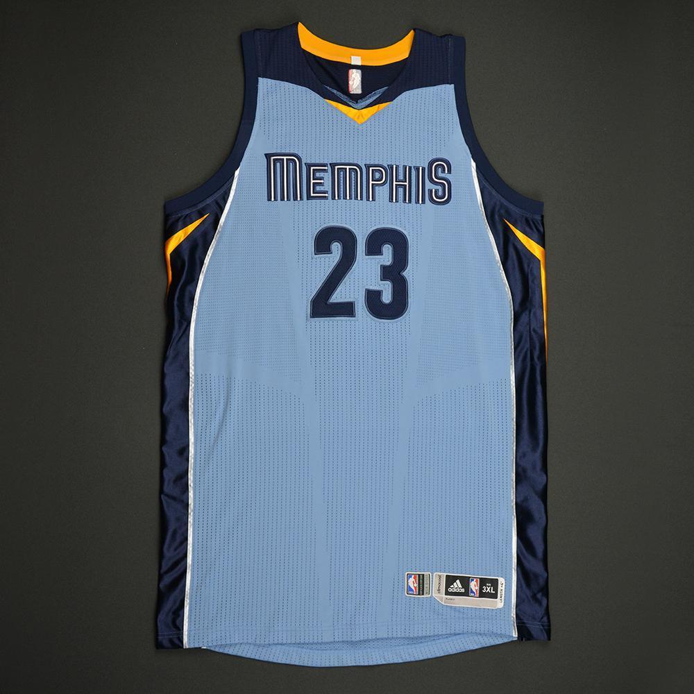 Deyonta Davis - Memphis Grizzlies - Game-Worn Rookie Season Jersey (Not Debut) - 2016-17 Season