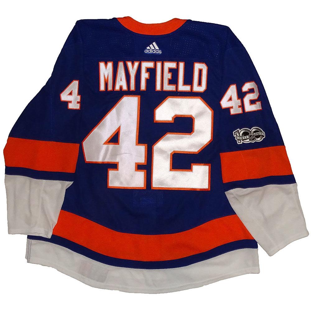Scott Mayfield - Game Worn Home Jersey - 2017-18 Season - New York Islanders