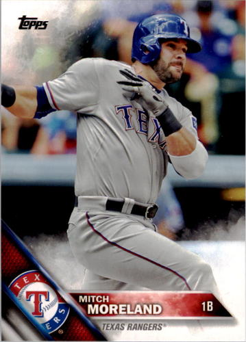 Photo of 2016 Topps #335 Mitch Moreland