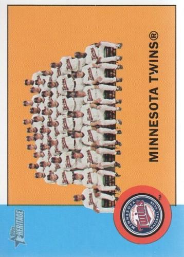 Photo of 2012 Topps Heritage #162 Minnesota Twins TC