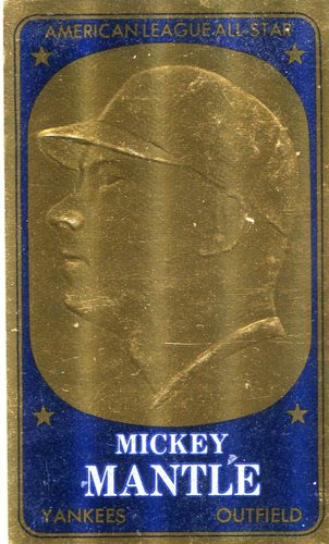 Photo of 1965 Topps Embossed #11 Mickey Mantle