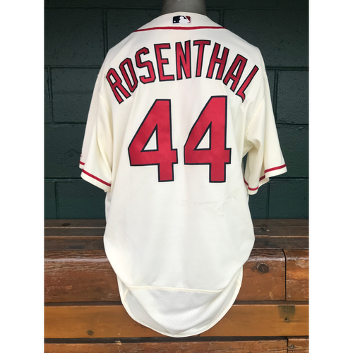 Photo of Cardinals Authentics: Trevor Rosenthal Team-Issued Saturday Alternate Jersey