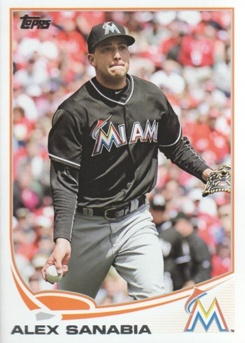 Photo of 2013 Topps Update #US83 Alex Sanabia