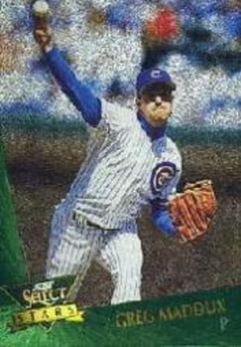 Photo of 1993 Select Chase Stars #9 Greg Maddux